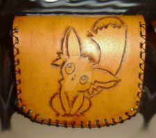 Grandia II - Carro Themed Leather Coin Pouch by ElementalxGaze