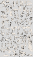 Characters and Concepts Dump by Pagerda