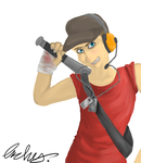 Dat scout by Archychan06