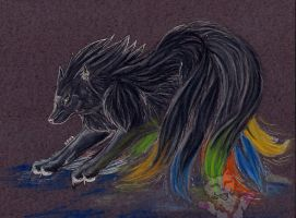 Ninetailed Beauty by Rianne2k8