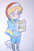 other random christmas drawing by SneezingHoundoom2