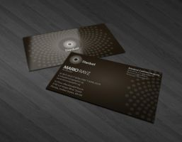 Stardust business card by Lemongraphic