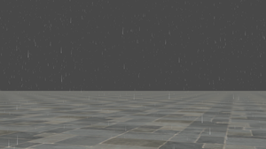 (Rigged) Rain for XPS by dasliebesverbot