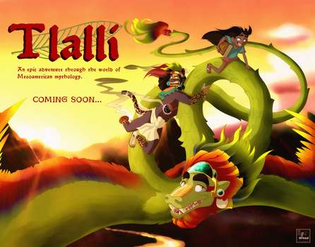 Tlalli...Promotional Illustration by Chrissyissypoo19