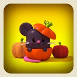 halloween mouse by cecymeade