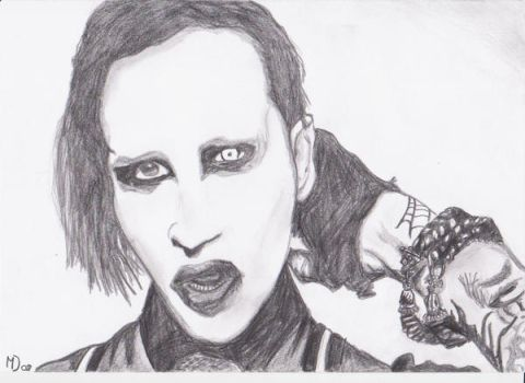 Marilyn Manson by MpatienceM