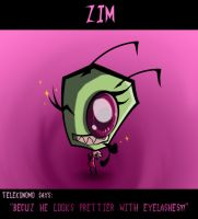 Zim Looks Prettier by Yeakuaf