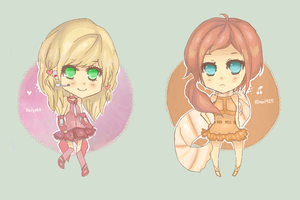 Chibi commissions batch 11-12 by Sunny-Winter-Star