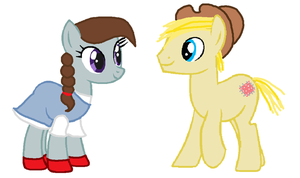 Ruby Slippers and Hay Stitch by Strawberry-T-Pony