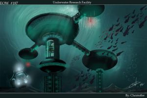 Underwater research facility. by Agent-Chris