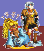 Freezerburn Clothes Swap Commission by AtsusaKaneytza