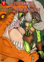 Crusker the Barbarian Issue 1 Cover by Demorta