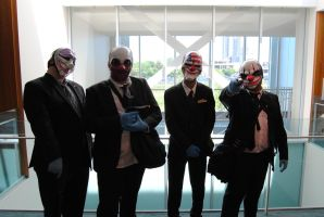 Niagara Falls Comicon 2015 - Payday Gang by TheWarRises