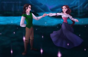 ART TRADE: Somewhere Only We Know by johngreeko