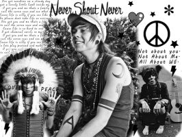Nevershoutnever by Melissa2themaxx