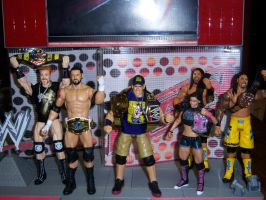WWE Title Holders by MisterBill82