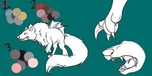 Vecrostien palette adopts by TWDAdoptables