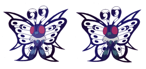 Mega Butterfree by MudSaw