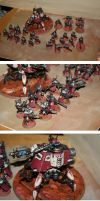 Ad Mech Skitarii Fez's Army 1 by FezFindie44