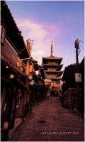 Gion view by jyoujo