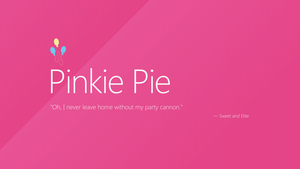 Pinkie Pie | Windows 8 by AdrianImpalaMata