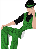 The Riddler by ScottLewisART