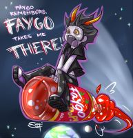 Faygo taking Gamzee where? by ItsJustSuppi