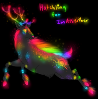 Cyber Deer Hatchling for ImANeither by TheFireGypsy