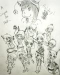 Cirques' Holiday Chibis Raz and Girls by NikkiFYI