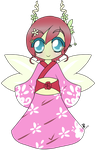 Bottle Fairy Blossom by Chibitsuna