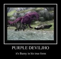 Purple Deviljho by xXLucannXx