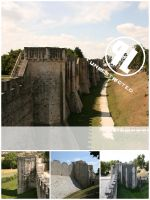 Medieval walls 2- Unrest. by Cat-in-the-Stock