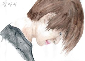 Onew watercolour by Vampiano
