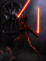 sith ahsoka rough color by vic55b