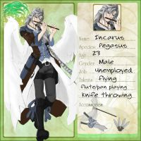 VolSa: Incarus character sheet by LaynaFeynreique
