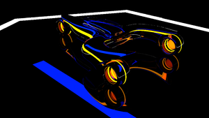 Tron Car 2 by Mikey-Spillers