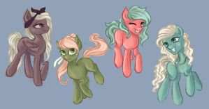 MLP OC's by Katyand