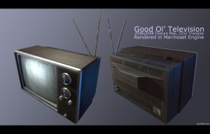 Good 'Ol Television by charliedeft