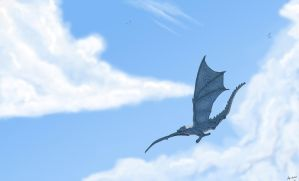 Soaring with Lantua by AguaRush11