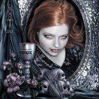 Portrait of Sarah by vampirekingdom