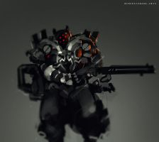30mins Speedpaint RED EYES by benedickbana
