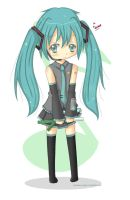 Chibi Miku by strawberry-queen1