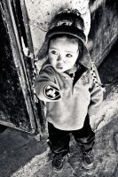 Bolivian child by Yupa