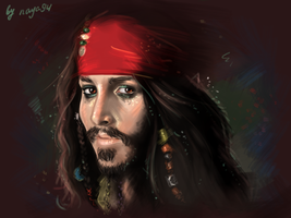 Captain Jack Sparrow by Naya94
