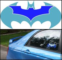 Batman Sticker by MikeMonaghanPhoto