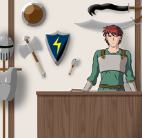 Weapon Shop by Celsia