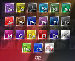 Adobe CS6 icon set by 32-D3519N