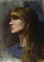 Portrait oil color by EthicallyChallenged