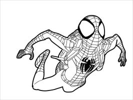 Spidey non-colored by gylo
