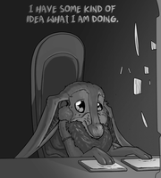 I have some kind of idea what I am doing. by Deviant-Care